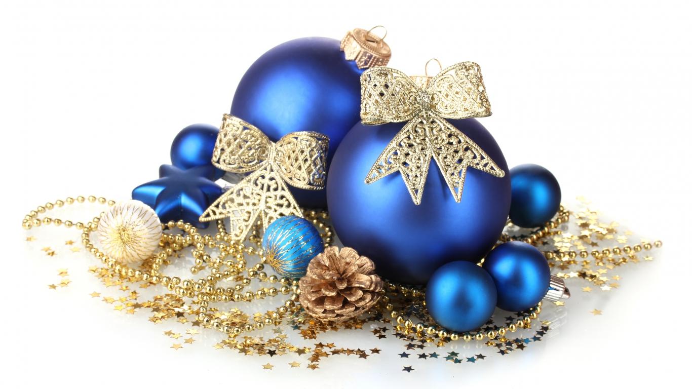 Новогодние открытки и украшения